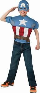 Captain, America, Shirt, U0026, Mask, Boys, Costume, Large, 8
