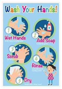 Wash Your Hands Smart Chart