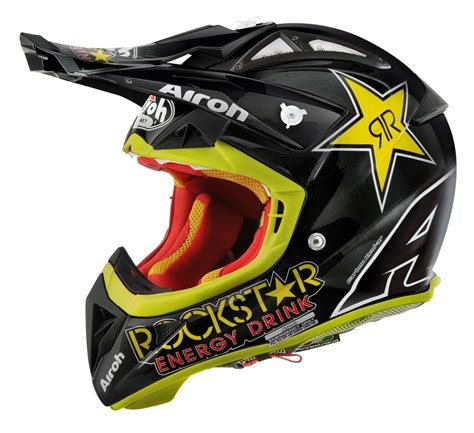 airoh motocross helmet airoh aviator21 rockstar helmet black yellow jpg