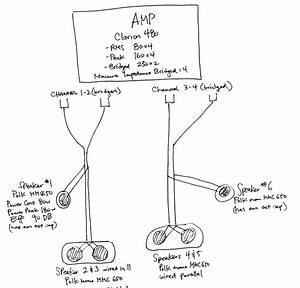 Amp  Speaker Wiring  Series Vs Parallel Help Please