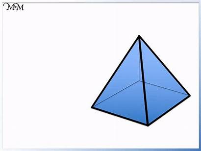 3d Shapes Pyramid Shape Names Cone Maths