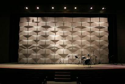 Stage Wall Church Coroplast Projection Backdrop Lights