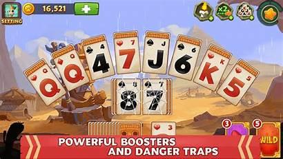 Solitaire Pyramid Games Card Island Tripeaks Adventure