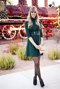 Great winter outfit. I love the girly tights. Easy outfit to recreate from your own closet ...