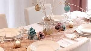 Dco De Table De Nol DIY Pas Cher Et Facile Ct Maison