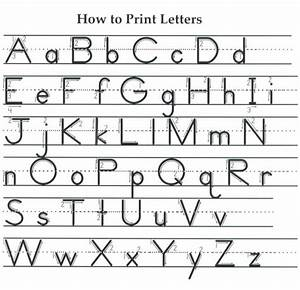 letter formation printables here is a diagram showing With name in printed letters
