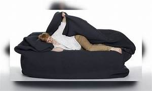bean bag bed with built in blanket and pillow get yours now With bean bed online