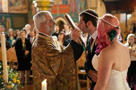 slightly unorthodox greek orthodox wedding chris giles