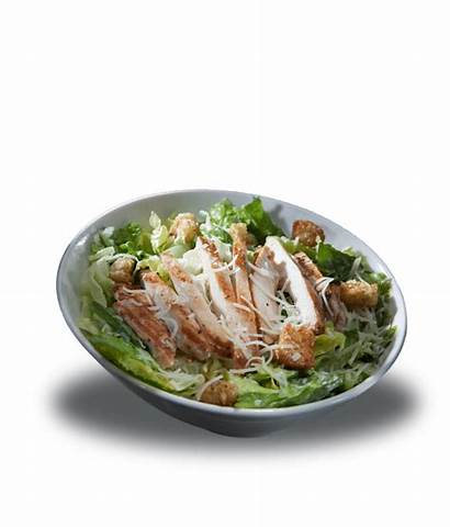 Healthy Salad Options Lettuce Caesar Chicken