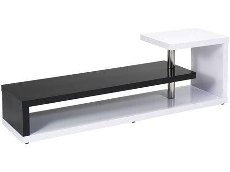 meuble tv conforama noir et blanc meuble tv