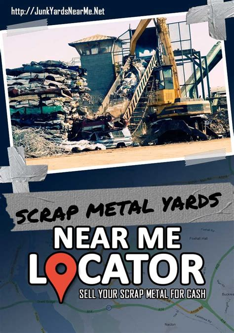 click   find scrap metal yards   sell