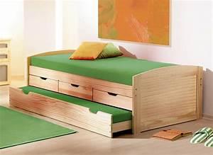 Bett Liegefläche 100x200 : ausziehbett in 90x200 cm aus massivholz kinderbett ben ~ Markanthonyermac.com Haus und Dekorationen
