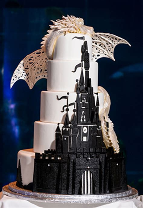 fairy cake topper fall in with these disney inspired wedding cakes oh