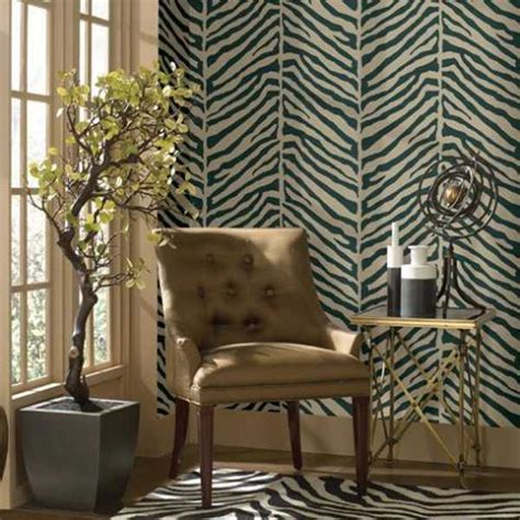 exotic home decorating ideas allowing zebra prints