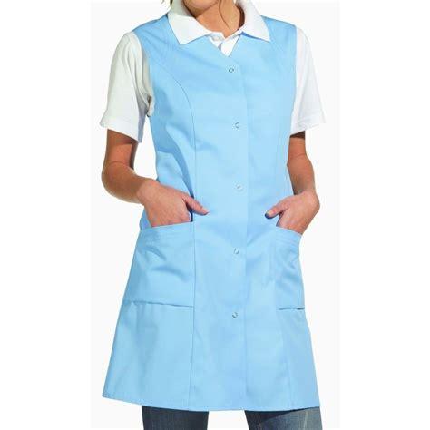 blouse de cuisine femme blouse femme sans manche boutons pression au dos