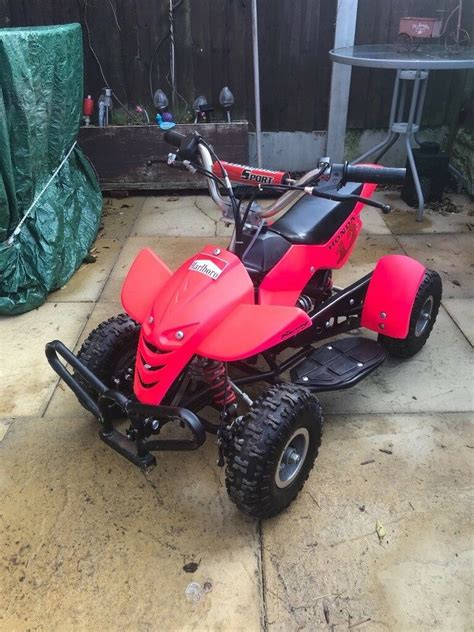 Here's a short bit of footage of his first attempt at riding on two wheels. Kids quad bike 50cc non runner please read add | in Birmingham, West Midlands | Gumtree