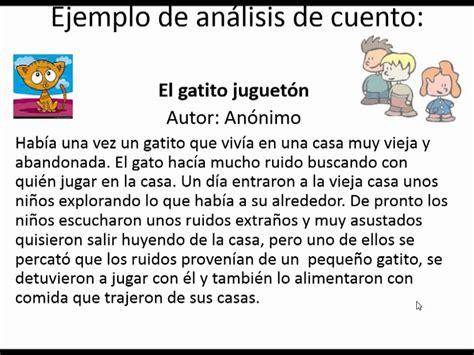 Explicacion De Los Elementos Del Cuento Wmv Youtube
