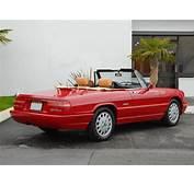 1991 Alfa Romeo Spider Veloce  Classic Italian Cars For Sale