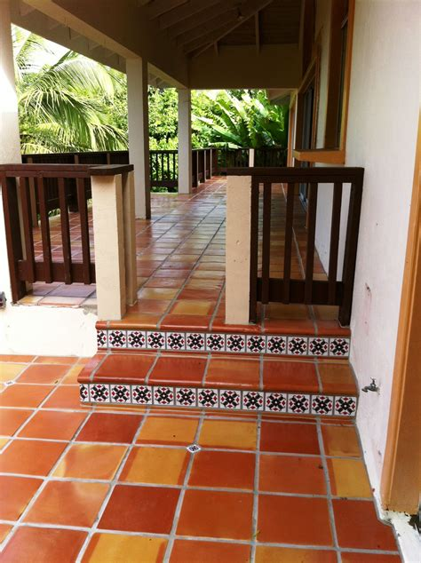 terracotta outdoor patio love terracotta tile
