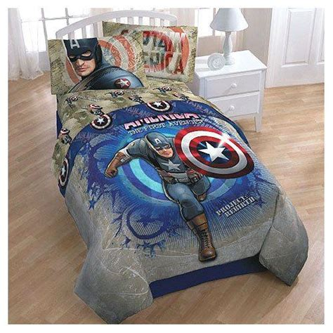 Captain America Bedroom Decor