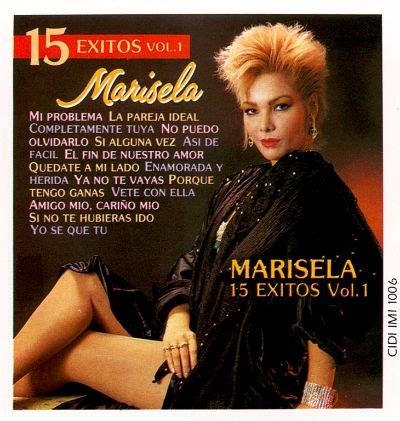 15 Grandes Exitos Marisela Songs Reviews Credits