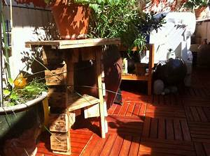 Flower Stands Small Garden Furniture Pallet Leftovers