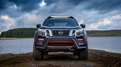 nissan navara dark sky concept    wallpaper hd