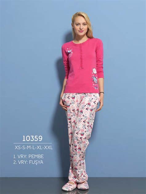 Зимняя женская пижама Relax Mode 10359 розовая купить в