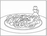 Coloring Salad Summer Nutrition Pages Rainbow Nutritioneducationstore Poster Motivational Chard Activity Simpler Artist sketch template