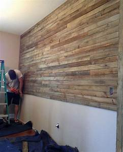 Diy, Pallet, Wall, Project