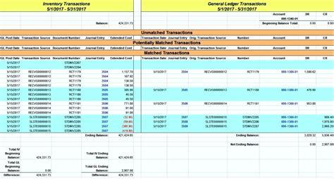 debtors reconciliation template  excel