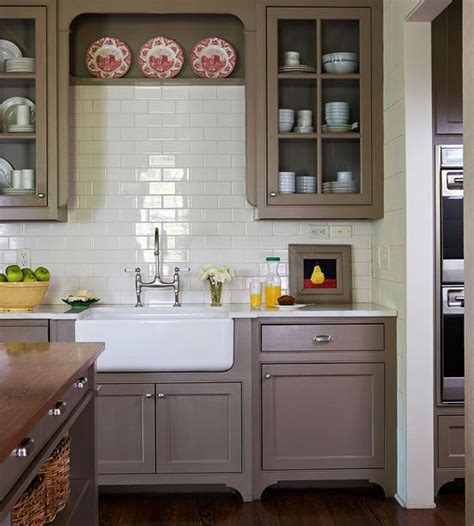 Kitchen Cabinet Island - shades of neutral gray white kitchens choosing cabinet colors the inspired room