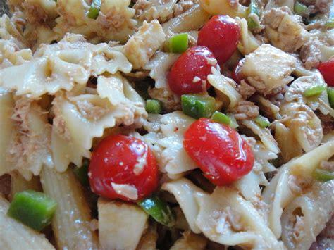 salade de p 226 tes au thon la cuisine de nelly