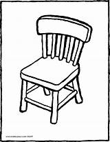 Chair Clipart Colouring Furniture Kiddicolour Colour Pages Drawing Webstockreview Coloured Kleurprenten Kiddi Receiver Mail sketch template