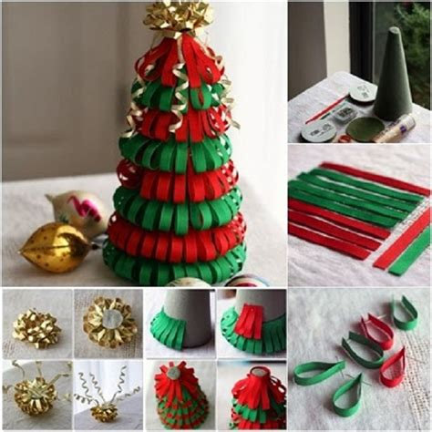 how to make a beautiful paper christmas tree our daily ideas