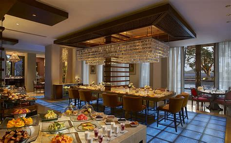 Leisurely Lunch At The Dining Room  The Leela Palace