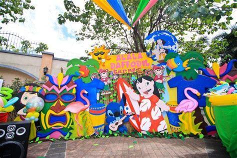lilo  stitch luau party birthday party ideas luau