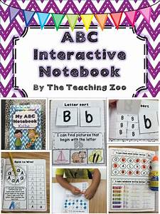 1000 images about interactive notebooks on pinterest With letter notebook