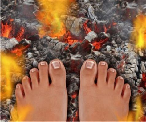 burning feet manna health