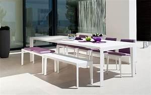 Table De Jardin Blanche : tables de jardin et terrasse design terrasse et demeureterrasse et demeure ~ Teatrodelosmanantiales.com Idées de Décoration