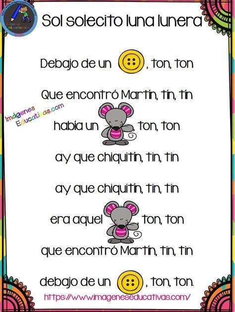 canciones  pictogramas  infantil  preescolar