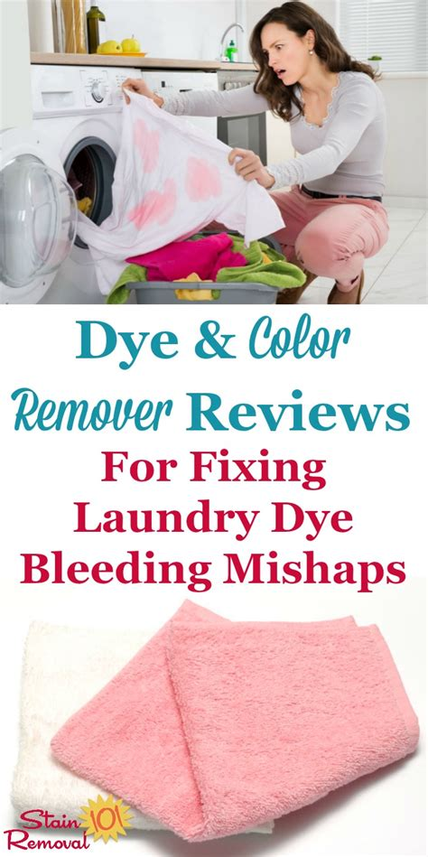 removing dye transfers from clothing color remover to get bleeding dye stains out of clothes