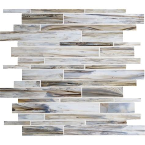 American Olean Mosaic Tile Canada by American Olean 12 In X 12 In Loren Place Sea Shell Glass