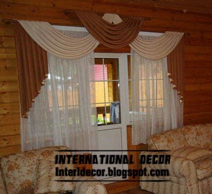 top  curtain designs  unique draperies designs