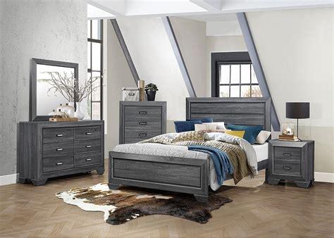 Homelegance Bedroom Set by Beechnut Panel Bedroom Set Gray Homelegance Furniture Cart