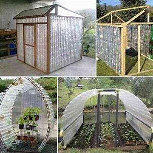 17 idees geniales pour reutiliser les bouteilles en plastique With plan maison r 1 100m2 7 urban gardening container gardening