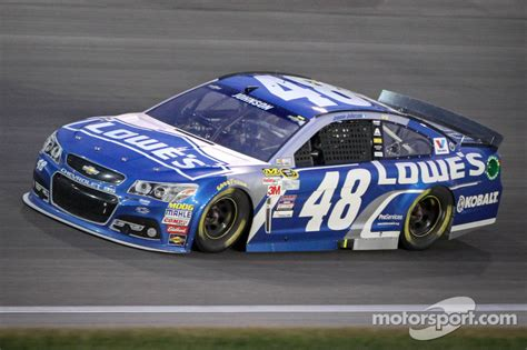 Jimmie Johnson, Hendrick Motorsports Chevrolet At Kansas