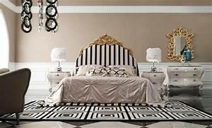 Lit Baroque Blanc : 1001 designs sublimes pour une d co baroque ~ Teatrodelosmanantiales.com Idées de Décoration