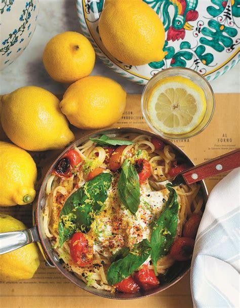 cuisiner une truite linguine au citron et à la stracciatella fumée pour 4
