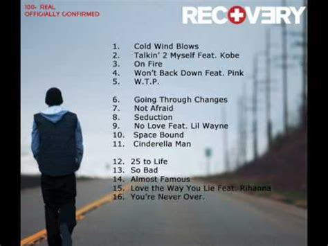 Eminem Curtains Up Tracklist by Eminem S Recovery Tracklist 100 Real